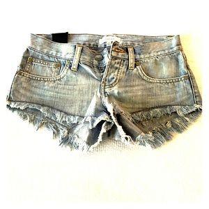 Talula size 24 jean shorts